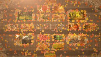 秋挙式の方のおすすめ自作プロフィールムービー用テンプレート