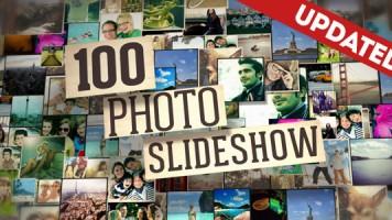 写真を100枚使ったプロフィールスライドショー!